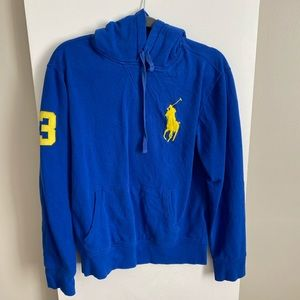 Blue Ralph Lauren sweatshirt